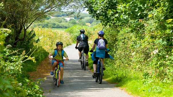 Cycling on the Bude Cycle Path