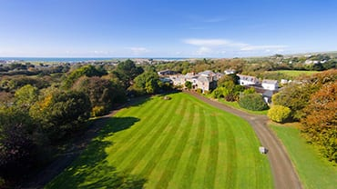 Broomhill-Manor-Aerial-View