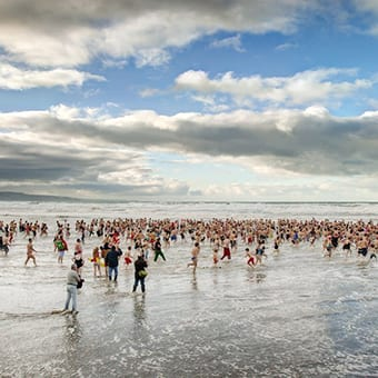 Bude Christmas Day Swim