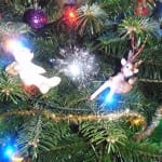 Christmas Tree Decorations at Broomhill Manor