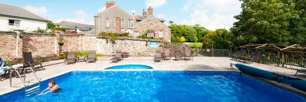 Outdoor Pool at Broomhill Manor