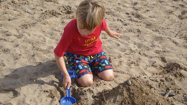 making-sandcastles