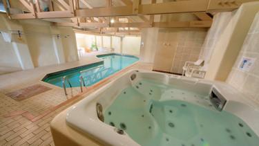 Pool and Spa Facilities at Broomhill Manor